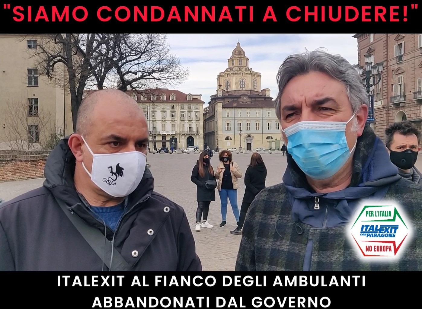 - ITALEXIT AL FIANCO DEGLI AMBULANTI -