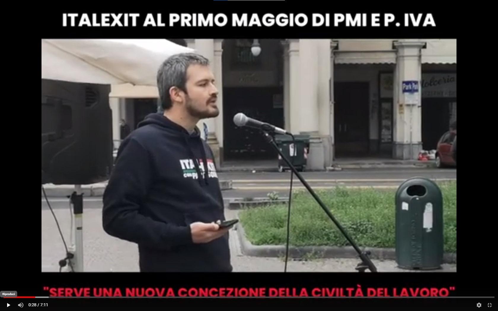 """PRESIDIO DI ITALEXIT NELLA PIAZZA DI SPACCIO IN BARRIERA: """"GLI ABITANTI CHIEDONO RISPETTO DALLE ISTITUZIONI!"""""""